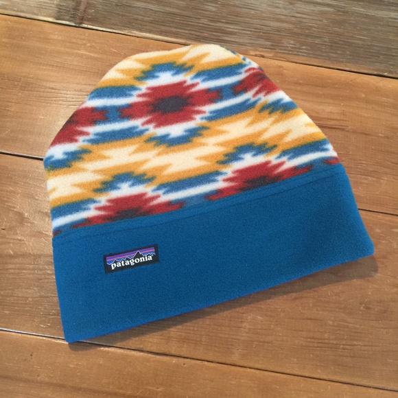 Patagonia Synchilla Alpine Hat Tribal Print. M 5c37944304e33d7c2c402780 33b0472a3fef
